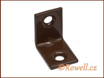 UH20 Úhelník 20 mm hnědý rowell
