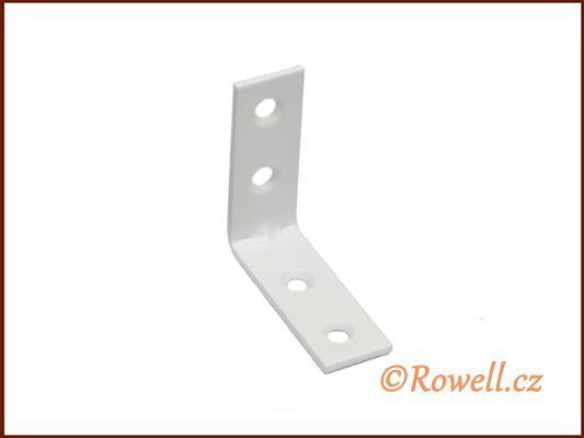 UH40 Úhelník 40 mm bílý rowell