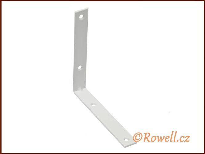 UH100 Úhelník 100 mm bílý rowell