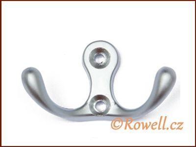 H2C Dvojháček - satén chrom rowell
