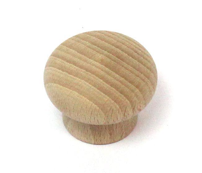 47016 dřevěná úchytka buk broušená 45x33 mm