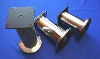 64144 - Nožka průměr 50x120mm Ni-broušený A098 (64