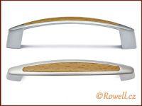 UK2 úchyt 96mm chrom/buk rowell