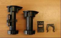 64682 - Nožka PLAST 11,5cm RT 05K,H115-145mm 62