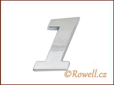 C26 Číslice 26mm '1' rowell