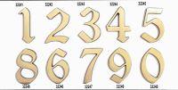 "C125 Číslice 125mm bronz ""2"" 62"