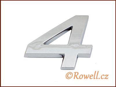 C26 Číslice 26mm '4' rowell