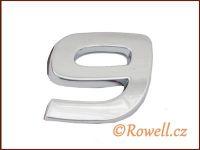 C26 Číslice 26mm '9' rowell
