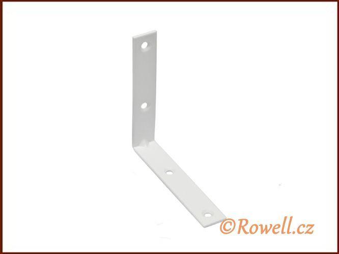 UH80 Úhelník 80 mm bílý rowell