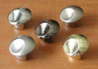 63271 - SAMIR knopka 31,5mm chrom lesklý