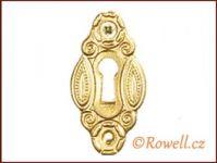 SK2 Štítek klíč zlatý rowell