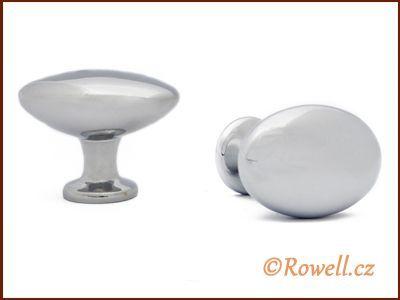 K35 Knopka stříbrná rowell