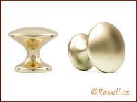 K30 Knopka 30mm - zlatá rowell