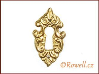 SK7 Štítek klíč zlatý rowell
