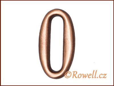 C2 Čísélko staroměď '0' rowell