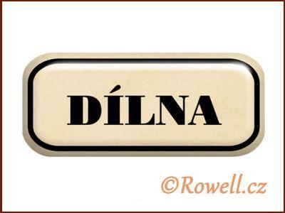 NSD zlatý 'Dílna' rowell