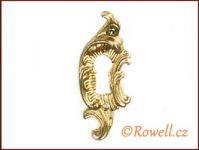 SK8 Štítek klíč zlatý rowell