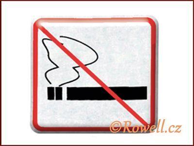 NZ 'Zákaz kouření' /stříbrná/ rowell