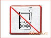 NZ 'Zákaz telefon' /stříbrná/
