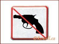 NZ 'Zákaz zbraň' /stříbrná/