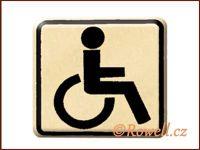 NO cedulka zlatá  'Invalida'