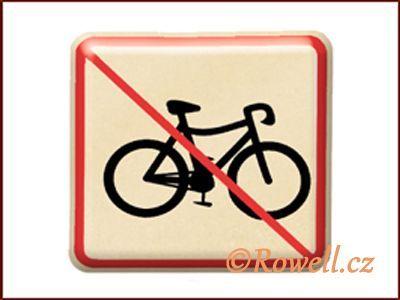 NZ 'Zákaz kolo' /zlatá/ rowell