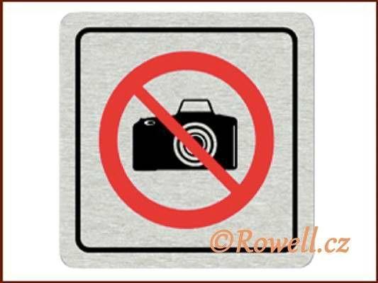 CPP 'Zákaz foto' /nerez/ rowell