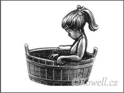 ST3v štítek koupelna starostříbro rowell