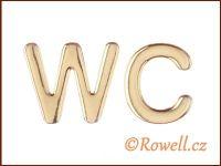 W37   WC 37 mm  LOGO zlatá