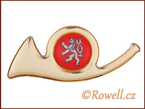ZPV Znak pošta velký-zlatý rowell