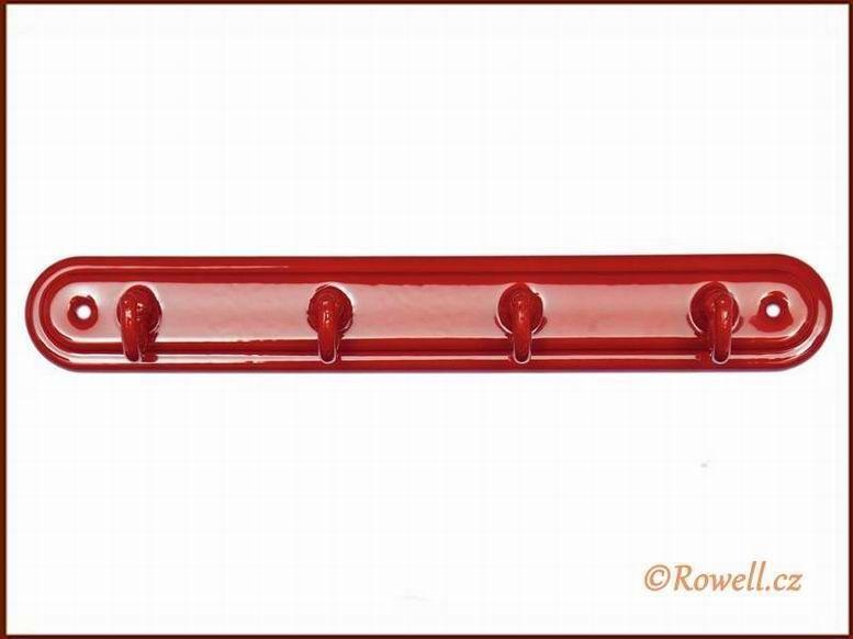 H4 Čtyřháček červený / červen rowell