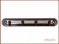 H4 Čtyřháček hnědý / hnědý rowell