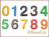 C37  Číslice 37 mm  LOGO barva