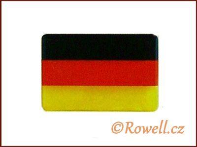 LV50 Vlaječka NEM 25x17 mm rowell