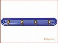 H4 Čtyřháček modrý / zlatý rowell