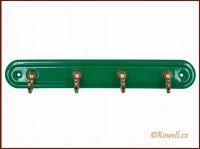 H4  Čtyřháček zelený / zlatý