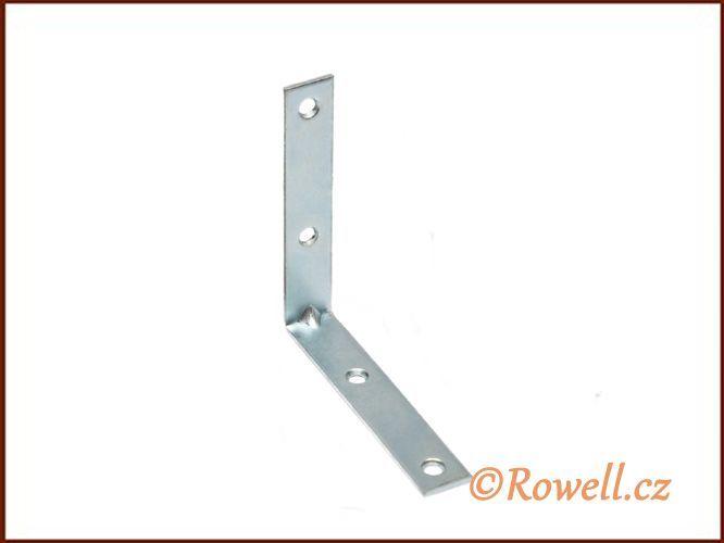 UH80 Úhelník 80 mm pozink rowell
