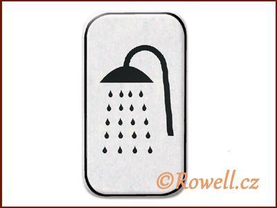 NSpr Sym.sprcha 70x40m stříbro rowell