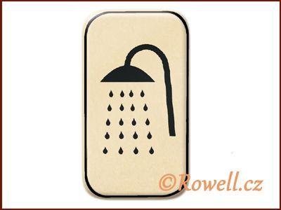 NSpr Sym.sprcha 70x40m zlatý rowell