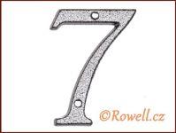C1 Číslice 80mm k.stř. '7' rowell