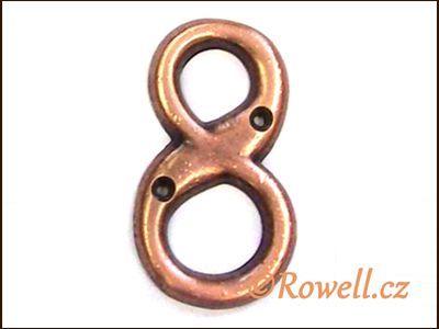 C2s Čísélko staroměď '8' rowell