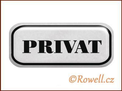 NSD stříbrný 'Privat' rowell