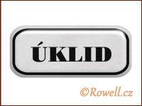 NSD stříbrný 'Úklid' rowell
