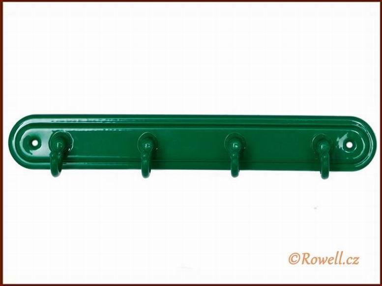 H4 Čtyřháček zelený / zelený rowell