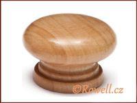 KD4 Knopka 34mm dřevo-buk rowell