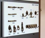 UR1 Úchyt 62-64 mm staromosaz rowell