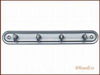 H4 Čtyřháček stříbrný / stříb rowell