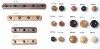 88002 - KD32 knopka dřevo / natur lak