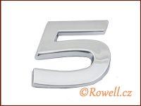C26 Číslice 26mm '5' rowell