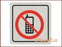 CPP 'Zákaz telefon ' /nerez/ rowell